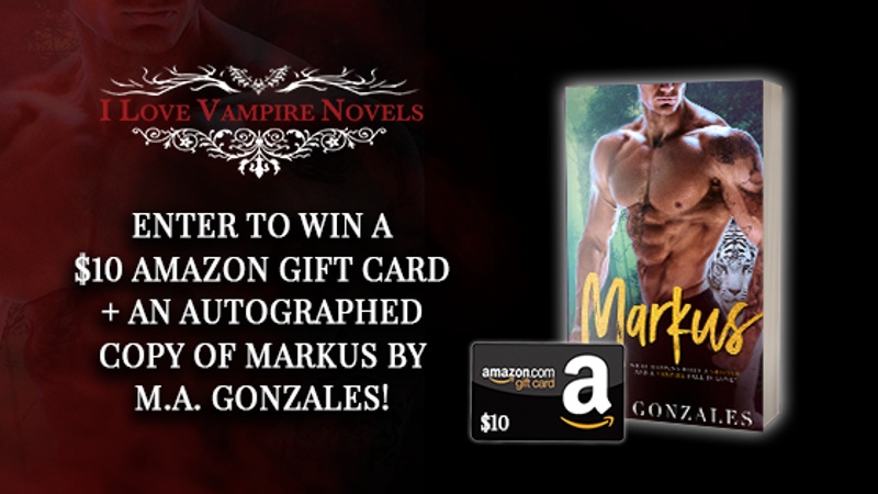 Win A $10 Gift Card & Autographed Copy of Markus by M.A. Gonzales!