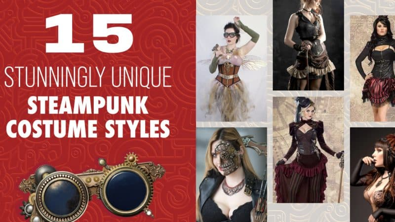 15 Stunningly Unique Steampunk Costume Styles