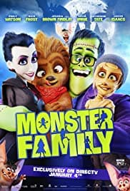 Monster Family (2017) Vampire Movies For Kids
